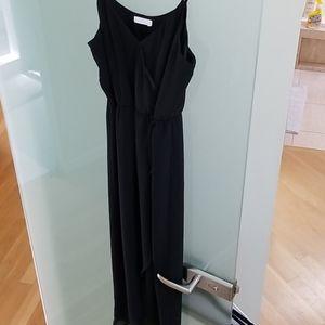 🏷5/$25 Lush black dress small sheer flowy